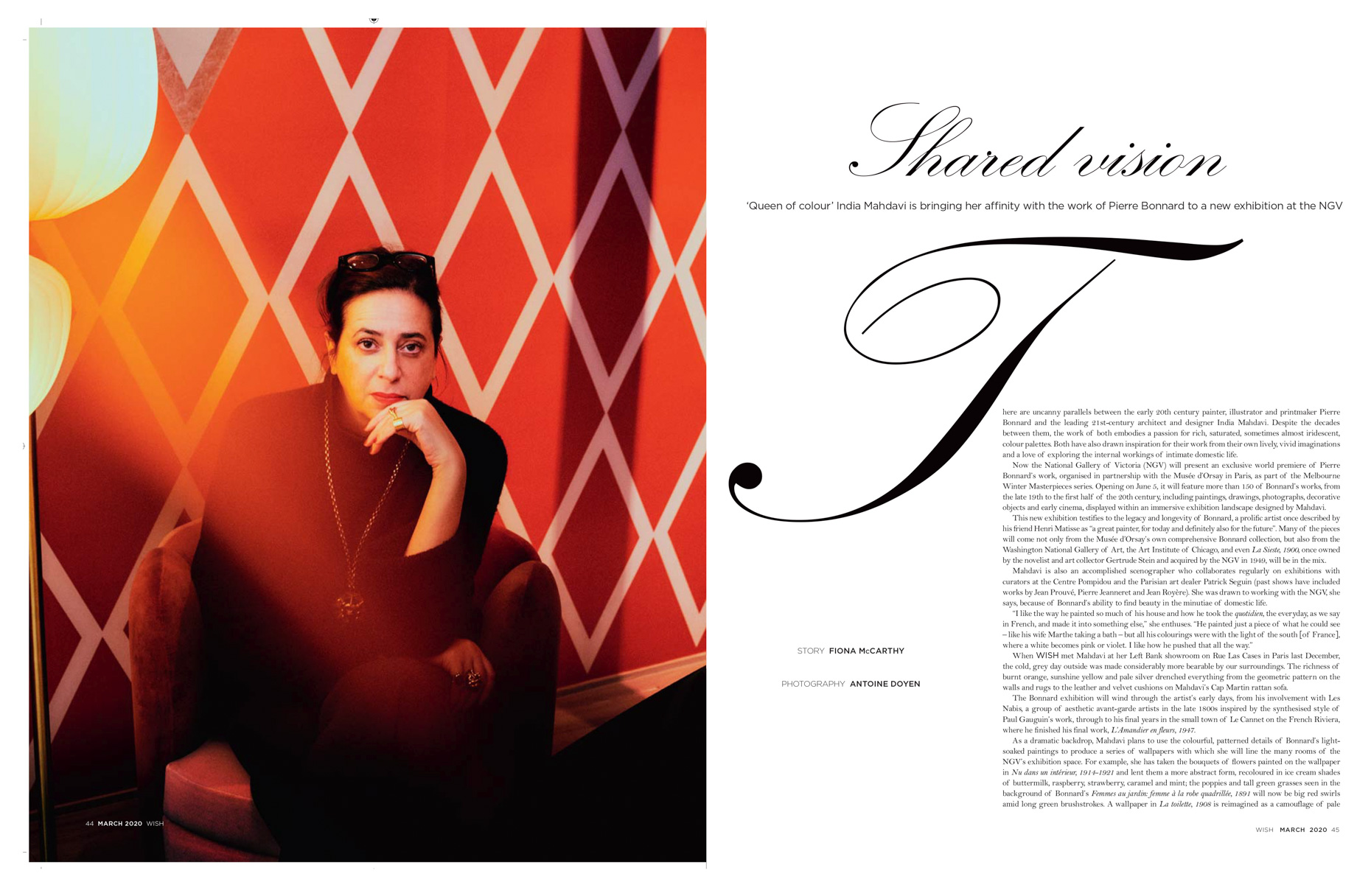 India Mahdavi - The Australian (Wish)