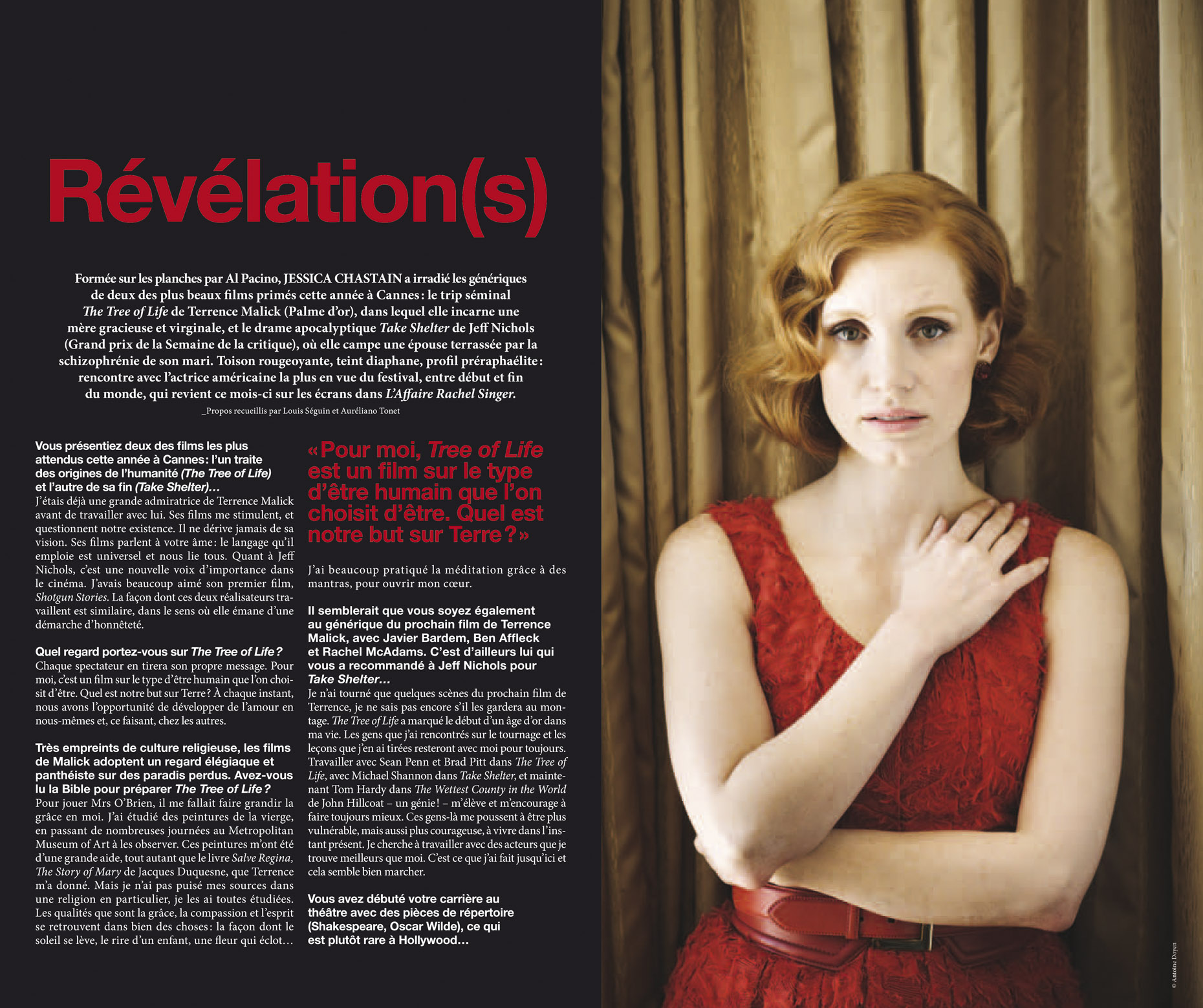 17-Jessica Chastain - MK2 Trois Couleur