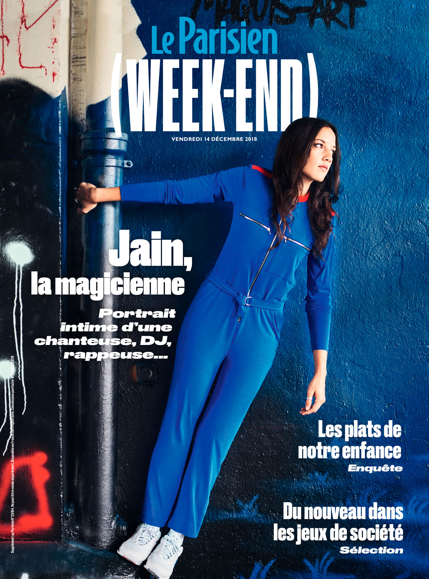 Jain - Le Parisien Weekend - Dec. 2018
