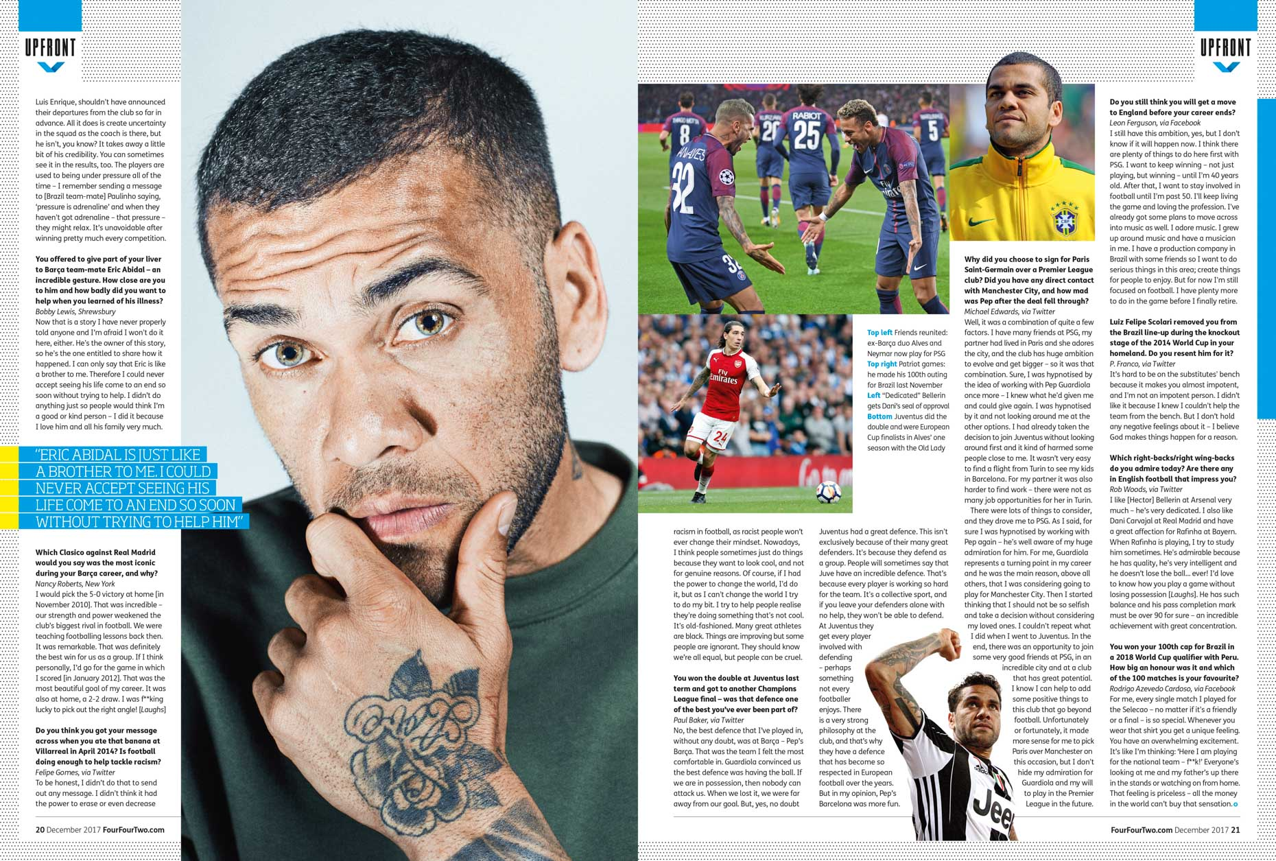 Dani Alves - Four Four Two